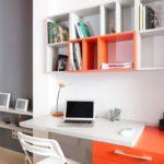 Обустройство зоны кабинета для фрилансеров, работающих дома