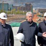 Собянин осмотрел ход комплексной застройки территории ЗИЛ