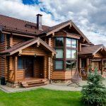 Дерево — лучший материал для строительства загородного дома