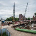 Алиханов поручил организовать видеонаблюдение за ремонтом Высокого моста