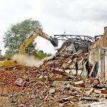Демонтаж строений из дерева