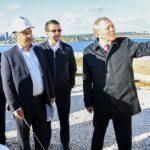 Рустам Минниханов осмотрел площадку строительства подземного паркинга перед НКЦ «Казань»