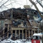 Власти Москвы согласовали проект восстановления сгоревшей библиотеки ИНИОН