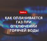 Правила начисления стоимости газа при отсутствии горячей воды в Украине в 2018 году