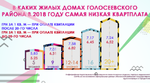 Сколько стоит квартплата в жилых домах разной этажности в Голосеевском районе в 2018 году: инфографика