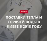 Какая компания будет поставлять тепло и горячую воду в Киеве в 2018 году