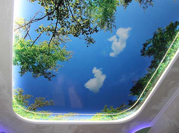 Натяжные потолки – признак современности