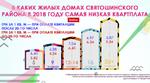 Какой размер квартплаты действует в Святошинском районе в 2018 году для жилых домов разной этажности