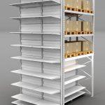 Модели стеллажных конструкций для торговли